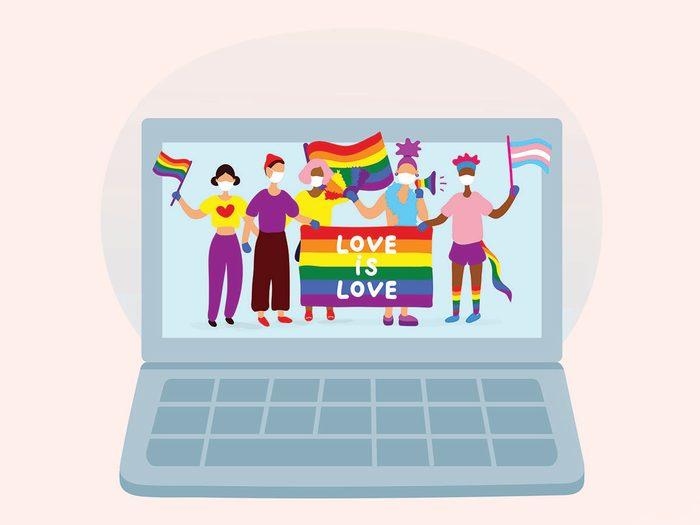 virtual pride events