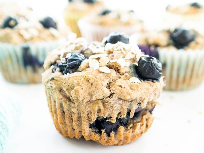 easy healthy breakfast recipes | muffins