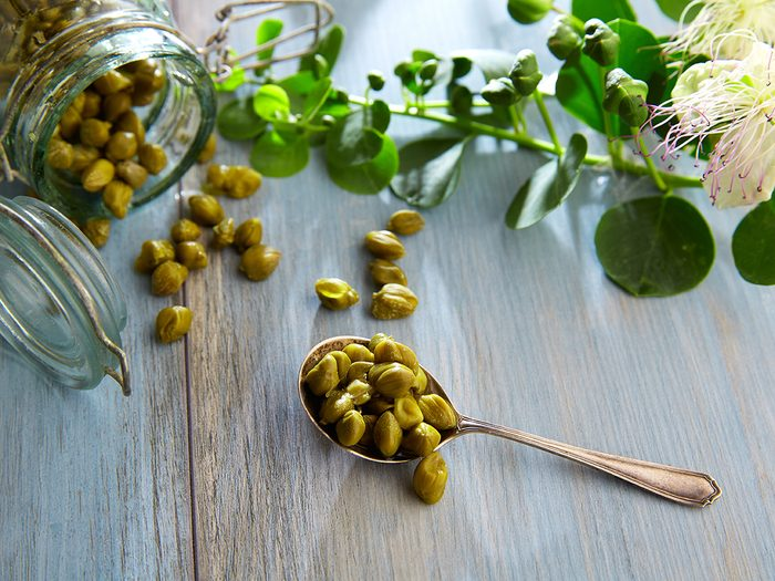 pickled capers   diet changes for brain benefits   brain health nutrition