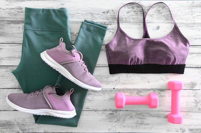 women's workout gear