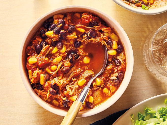 stress-free cooking   chili recipe