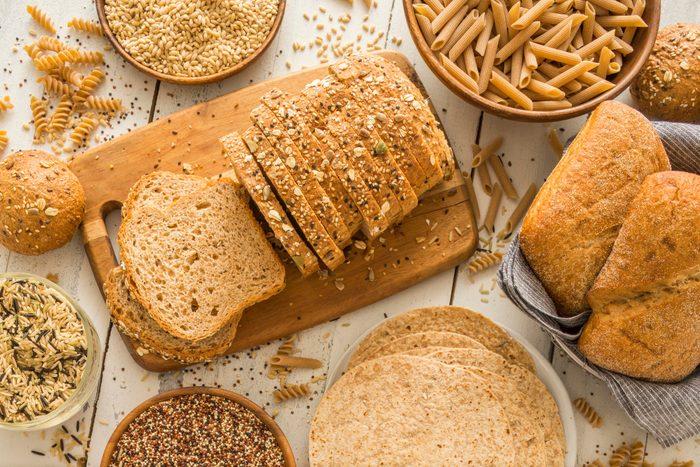 mediterranean diet | brown bread on cutting board