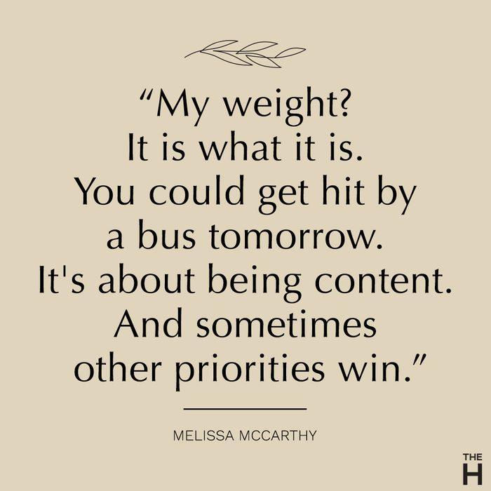 Melissa McCarthy | body-positive quotes
