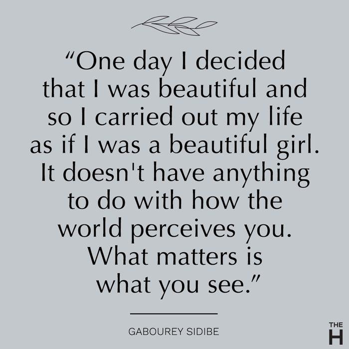 gabourey sidibe| body-positive quotes