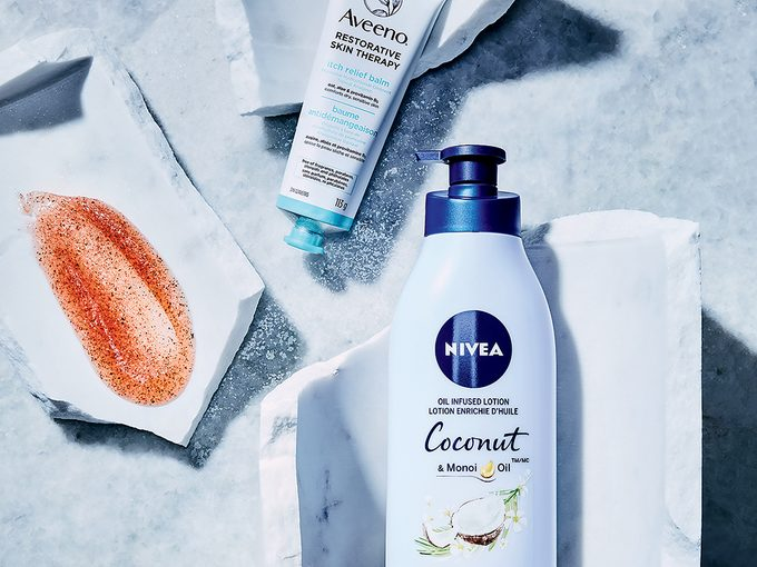 winter skincare tips   photo of three skicnare products for your body this winter
