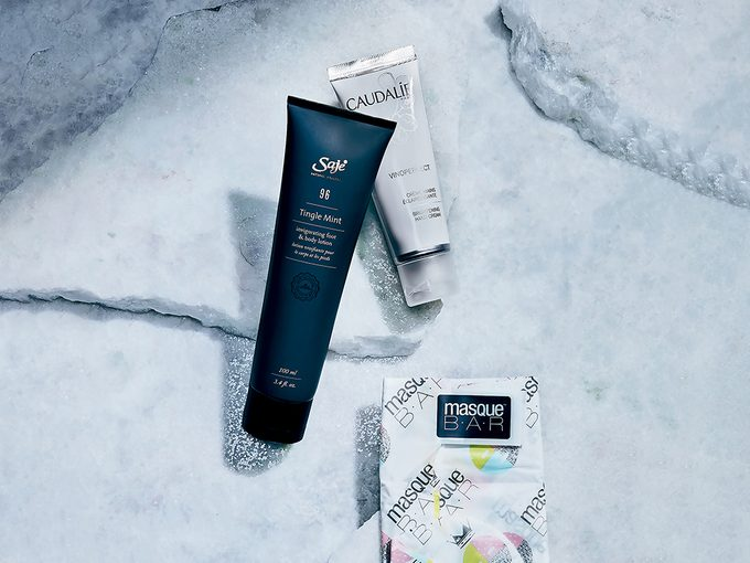 winter skincare tips   shot of three skincare products for feet and hands