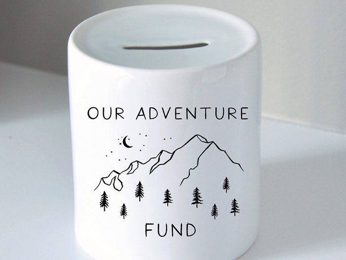 Etsy adventure piggy bank   wellness gifts   best health gift guide