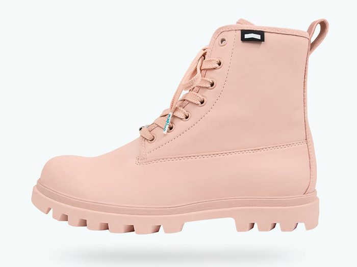 native shoes pink hiking boots   wellness gifts   best health gift guide