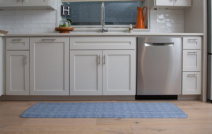 healthier home changes | anti fatigue mat on the ground