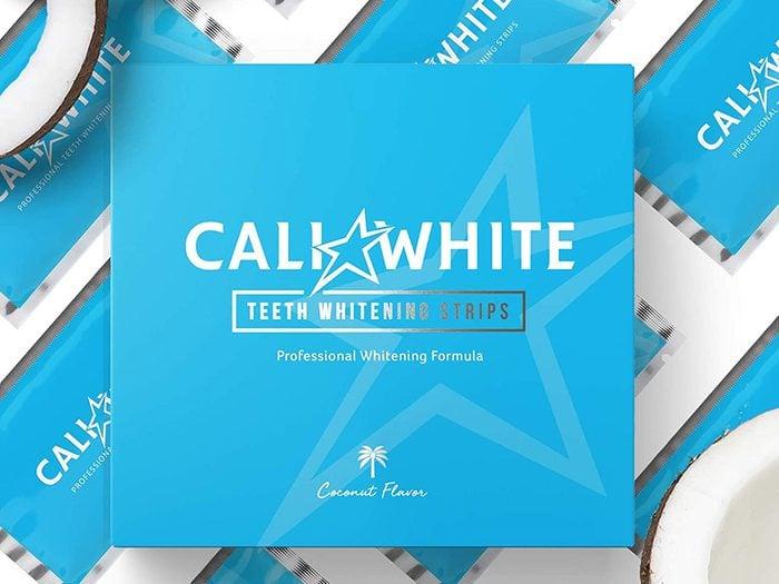 best toiletry items   cali white whitening strips