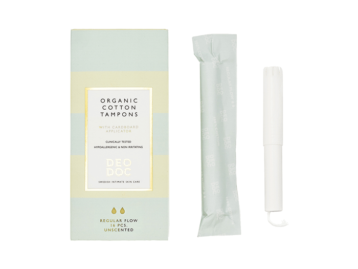DeoDoc organic tampons   best toiletry items