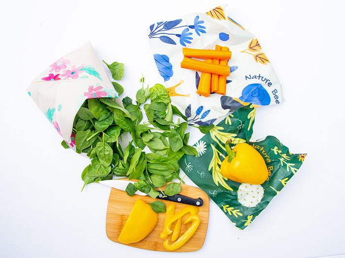 single-use plastic swap   sustainable upgrades eco-friendly home upgrades   Nature Bee Beeswax Wraps