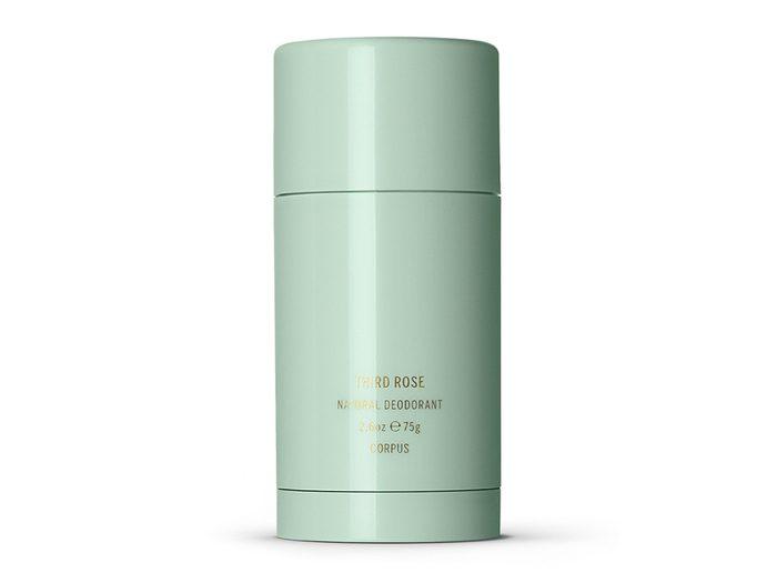 best toiletry items   Corpus Third Rose deodorant