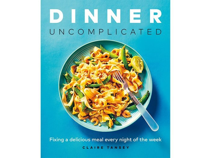 cover of dinner, uncomplicated by clare tansey