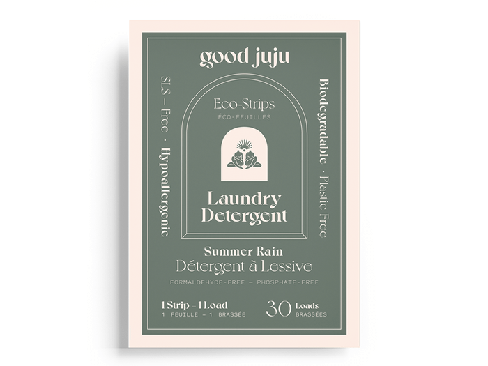 sustainable upgrades eco-friendly home upgrades   good juju laundry detergent strips