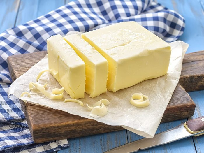 canadian butter palm oil   image of butter on a counter