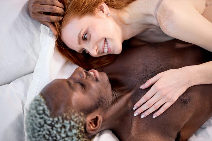 how to spice up your sex life | Young,beautiful,multi Ethnic,couple,on,bed, ,two,lovers,in