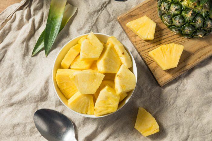 Healthy Organic Pineapple Slices