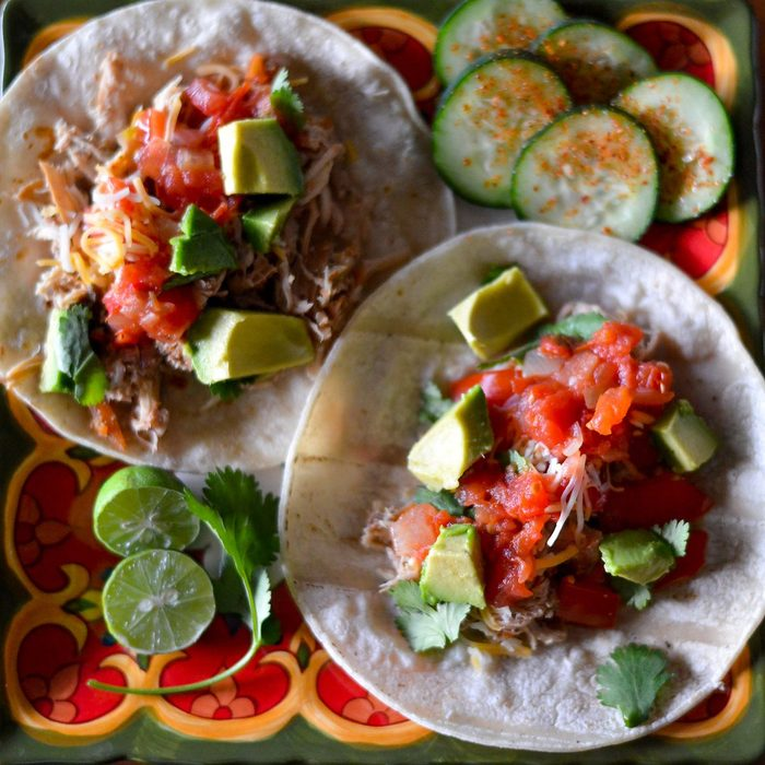 Slow Cooked Shredded Chicken Tacos Christy Wilson