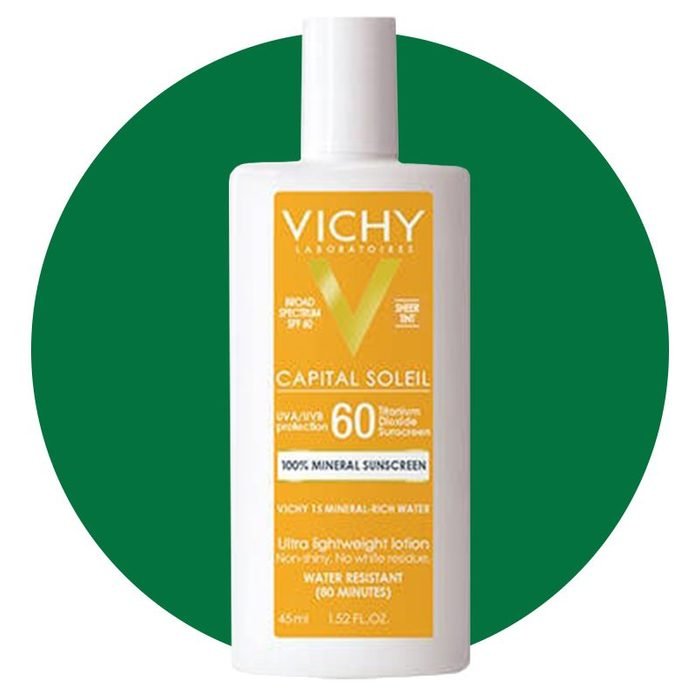 Vichy Capital Soleil Tinted 100 Percent Mineral Sunscreen Spf 60