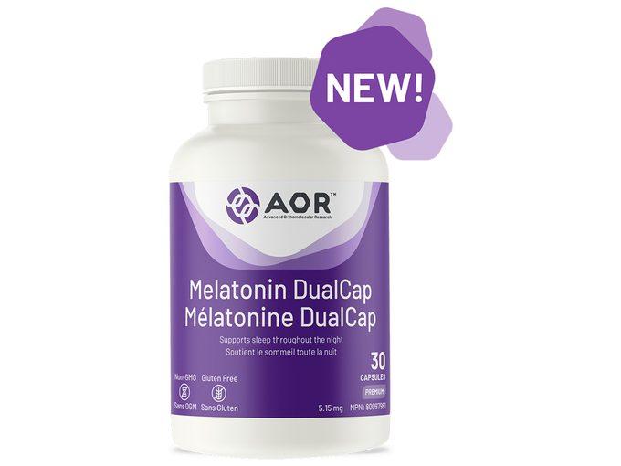 Aor Melatonin Dualcap 1000x750
